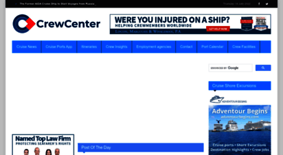 crew-center.com - your cruise ship news information station  crew center