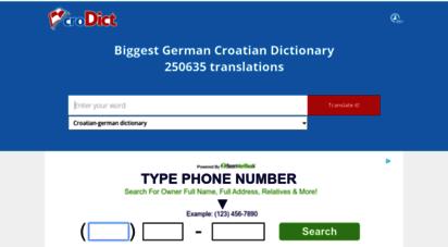 crodict.com