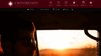 crossroadsinitiative.com - crossroads initiative