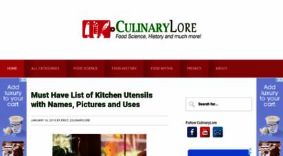 culinarylore.com