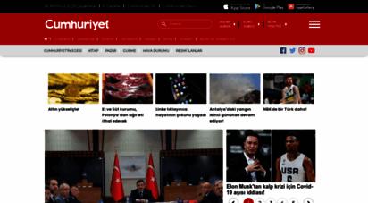 cumhuriyet.com.tr - cmhuriyet haber verir - güncel son dakika haberleri