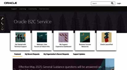 custhelp.com - home  oracle service cloud