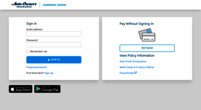 Auto Owners Login >> Welcome To Customercenter Auto Owners Com Login Auto Owners