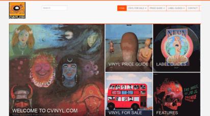 cvinyl.com - cvinyl.com - collectible vinyl
