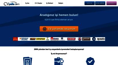 cvyolla.com - iş ilanları, iş arama, eleman bulma ve kariyer sitesi - cvyolla.com