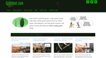 cyberfret.com - online guitar lessons  cyberfret.com