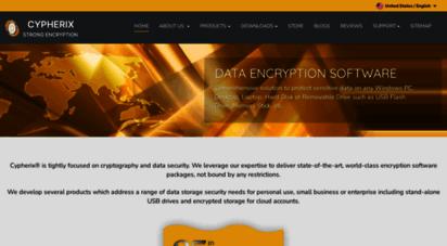cypherix.com - encryption software  data encryption software