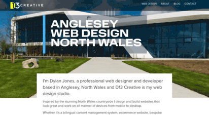 Welcome To D13creative Co Uk D13 Creative Anglesey Web Design North Wales