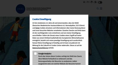 daad.de - deutscher akademischer austauschdienst - daad