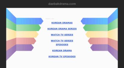 daebakdrama.com - daebakdrama - watch korean dramas and movies with english subtitles