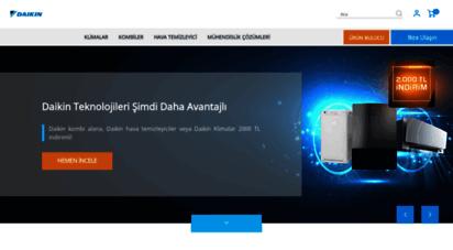 daikin.com.tr - daikin turkey - air conditioning and heating solutions