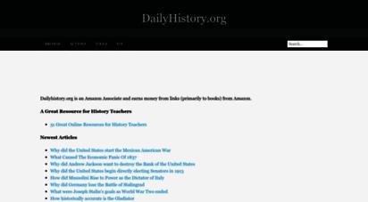 dailyhistory.org - dailyhistory.org