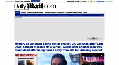 similar web sites like dailymail.co.uk