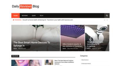 dailyreviewsblog.com - daily reviews blog