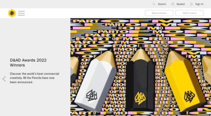 dandad.org - global ssociation for creative advertising & design awards  d&ad