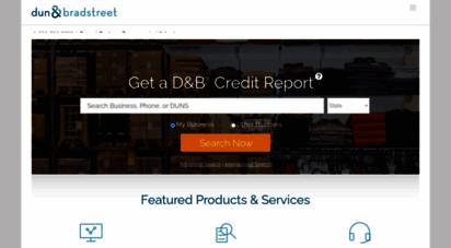 dandb.com - d&b® credit solutions - credit history - credit monitoring  dun & bradstreet
