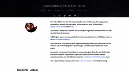 danosongs.com - royalty free music & songs  danosongs.com