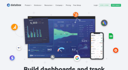 databox.com - 1 business anlytics platform & kpi dashboards  databox