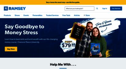 daveramsey.com - a proven plan for financial success  daveramsey.com