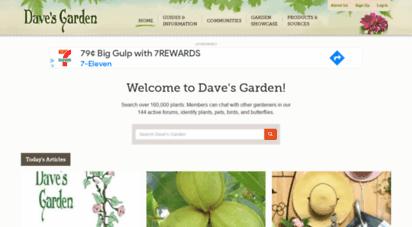 davesgarden.com - tips and advice on outdoor gardening, flower gardens, plants, & seeds - dave´s garden