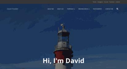 davidhodder.com - home - david hodder