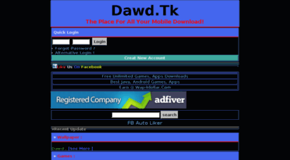 Welcome to Dawd tk - Dawd908 wapka me™ :: Hindi Mp3 & Video