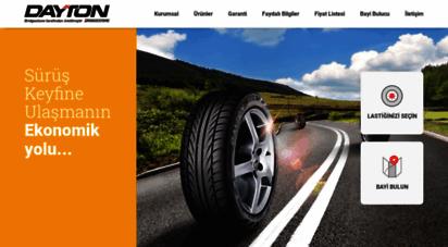 dayton.com.tr - sürüş keyfine ulaşmanın ekonomik yolu - dayton lastikleri
