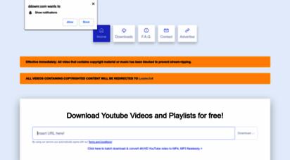 ddownr.com - ddownr - online downloader