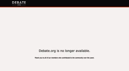 debate.org - the premier online debate website  debate.org