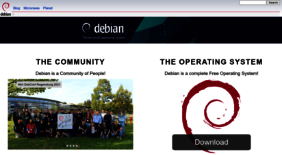 debian.org - debian  the universal operating system