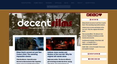 decentfilms.com - decent films - sdg reviews