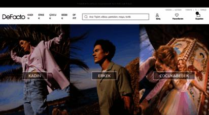 defacto.com.tr - defacto ile kadın ve erkek giyimde akdeniz modası