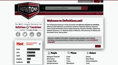 similar web sites like definitions.net