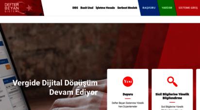 defterbeyan.gov.tr - defter-beyan  anasayfa