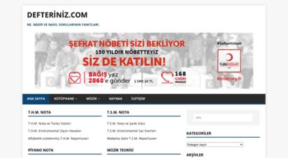 defteriniz.com - defteriniz.com - ne, nedir ve nasıl sorularının yanıtları.