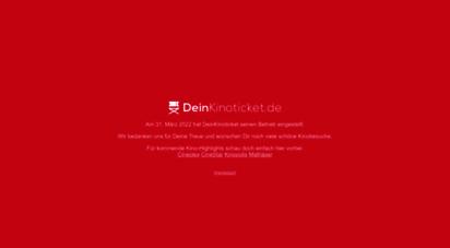 deinkinoticket.de - das kinoprogramm für deutschland - deinkinoticket.de