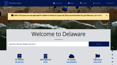 delaware.gov - delaware.gov - official website of the state of delaware