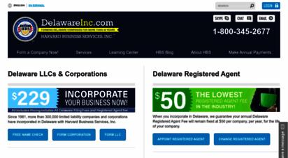 delawareinc.com -