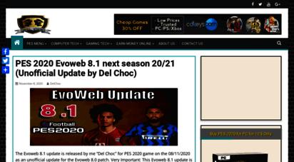 delchocweb.com - del choc web - high tech pro website