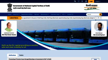 delhi.gov.in - delhi govt portal: home