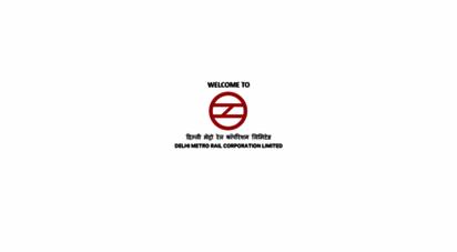 delhimetrorail.com - welcome to delhi metro rail corporationdmrc  official website