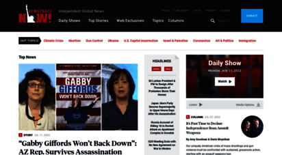 democracynow.org - democracy now!  democracy now!