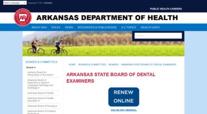 Welcome to Dentalboard arkansas gov - State Board of Dental