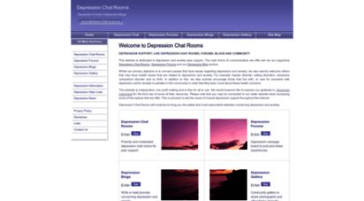 depression-chat-rooms.org - depression chat rooms