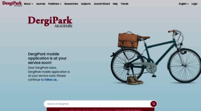 dergipark.org.tr - ana sayfa » dergipark