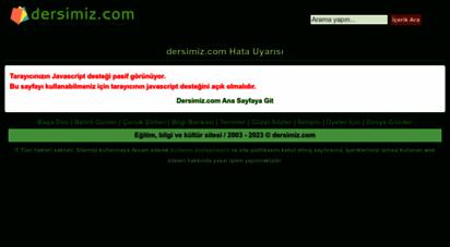 dersimiz.com