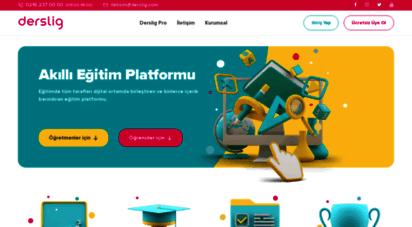 derslig.com - derslig - yeni nesil eğitim platformu