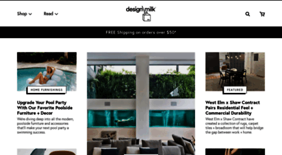 design-milk.com - design milk: interior design, modern furniture  home decor