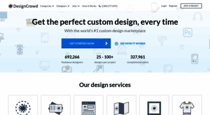 designcrowd.com - freelance logo design, web design & graphic design  designcrowd