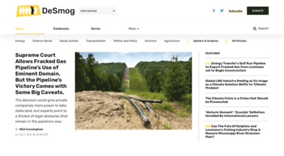 desmogblog.com - desmogblog  clearing the pr pollution that clouds climate science